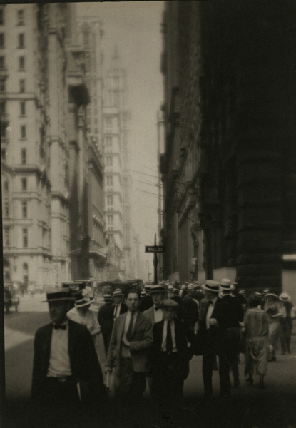 Untitled (Wall Street), 1921