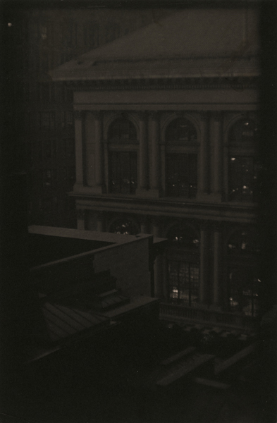 Untitled (Corner View of a Classical Building), ca. 1923