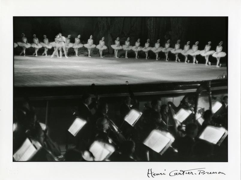 Swan Lake, Bolshoi Ballet Theatre, Moscow, 1954