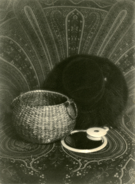 Design: Hat, Basket, Mirror, ca. 1922