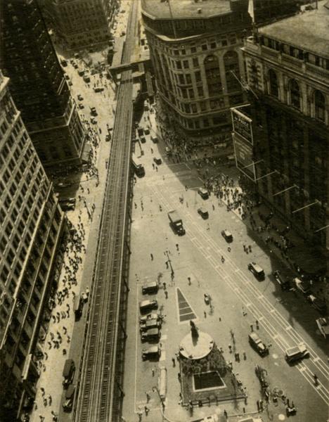 Herald Square with El, ca. 1927