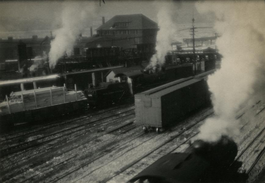 New York Rail Yard, 1922