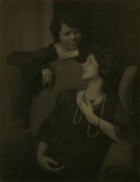 Jane Thomas Martin and Grace Thomas, 1924