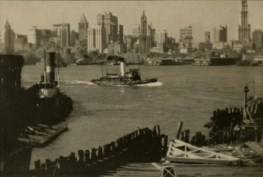 The East River from Old Fulton Ferry, 1922