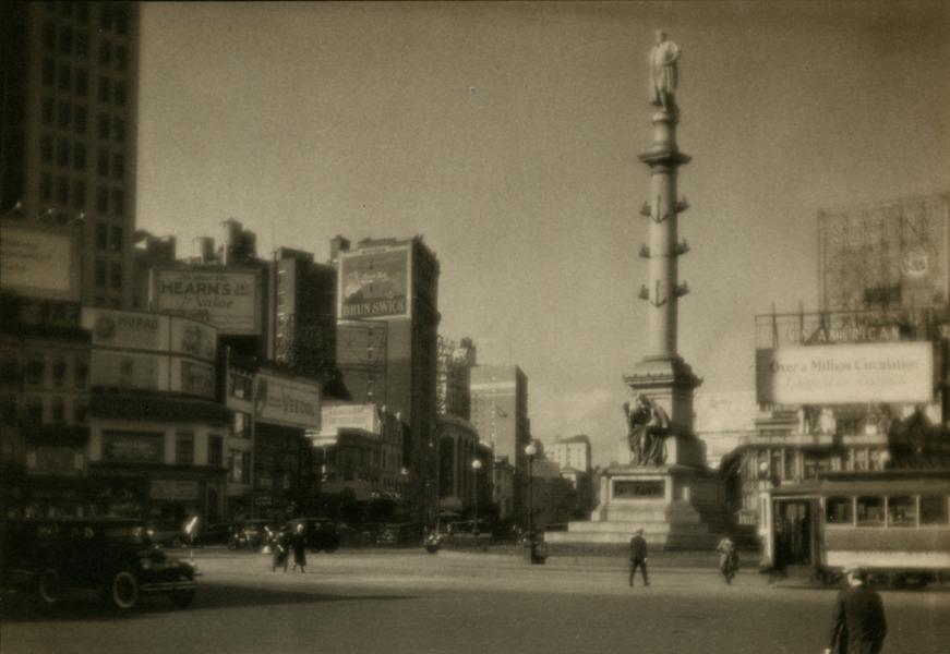 Columbus Circle, ca. 1921