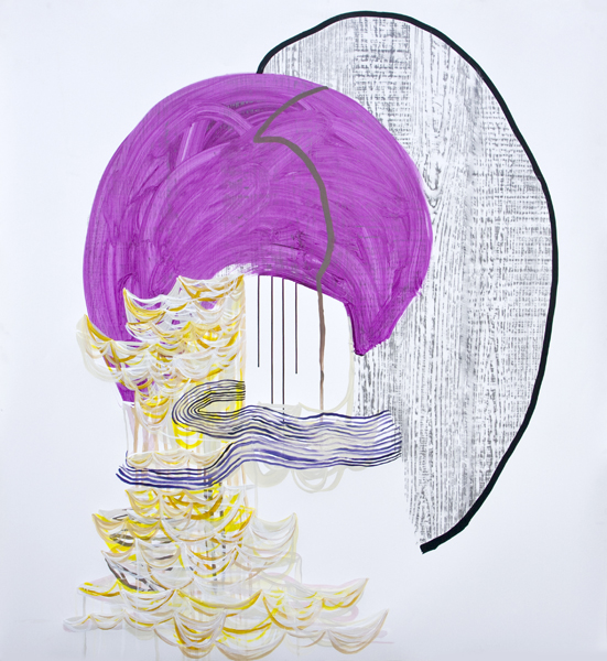 What Is Left (Fuchsia), 2012