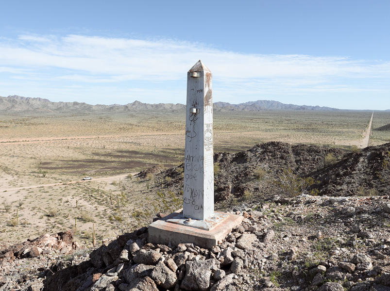 Border Monument No. 178 + Smugglers, January 10, 2012, 10:47PM