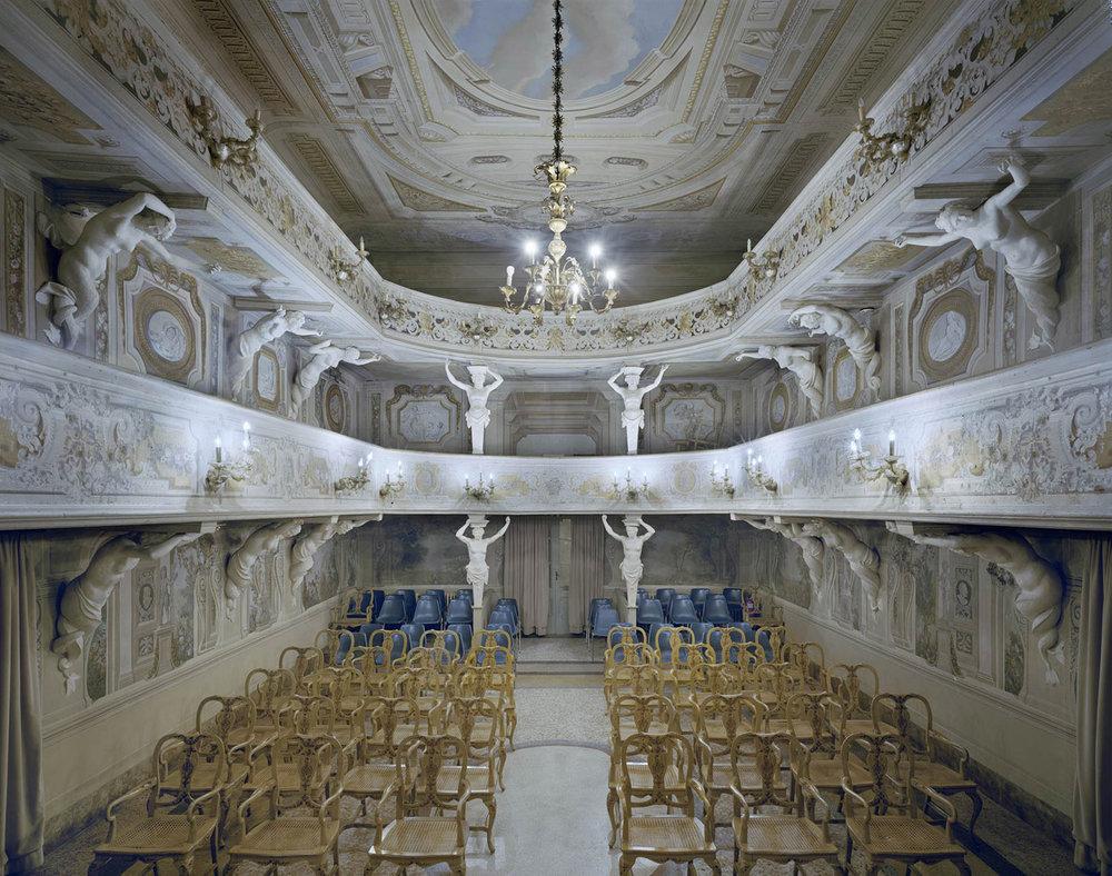 Teatro di Villa Aldrovandi Mazzacorati, Bologna, Italy, 2014