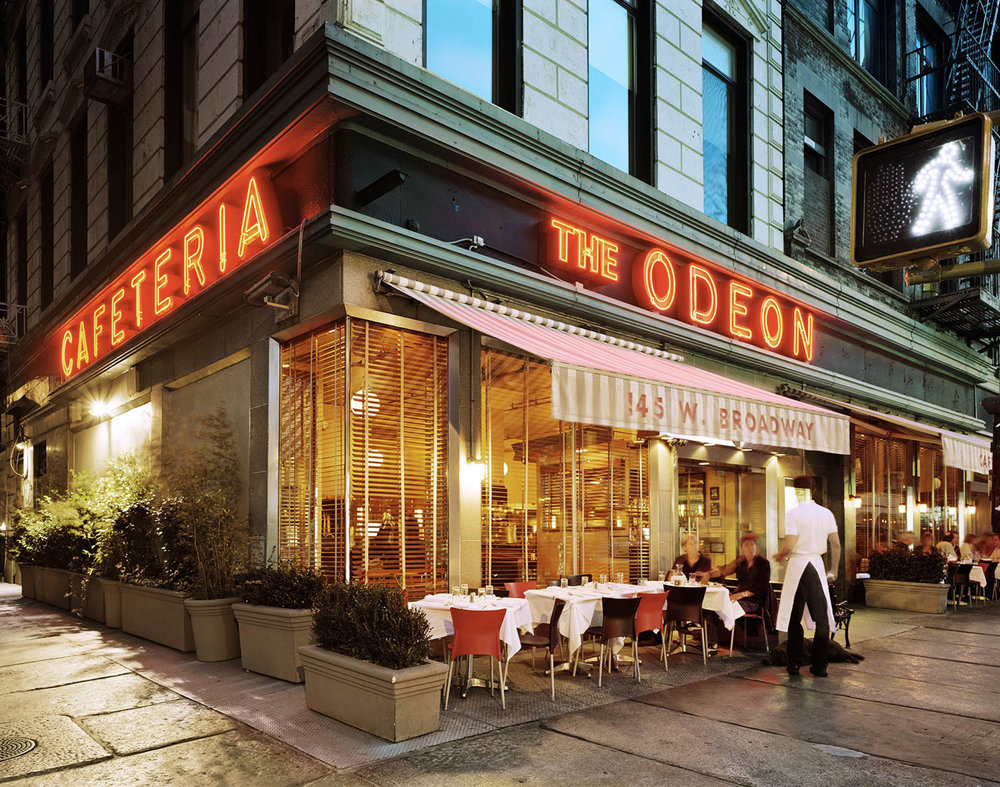 The Odeon, 145 West Broadway, Tribeca, New York