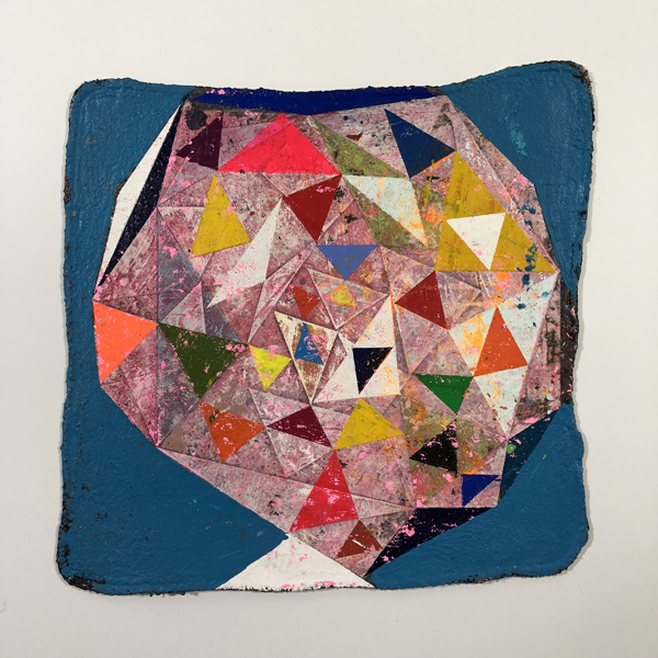 Jason Rohlf Facets 13 X 13%22 acrylic on muslin Shop Rag 2017.jpg
