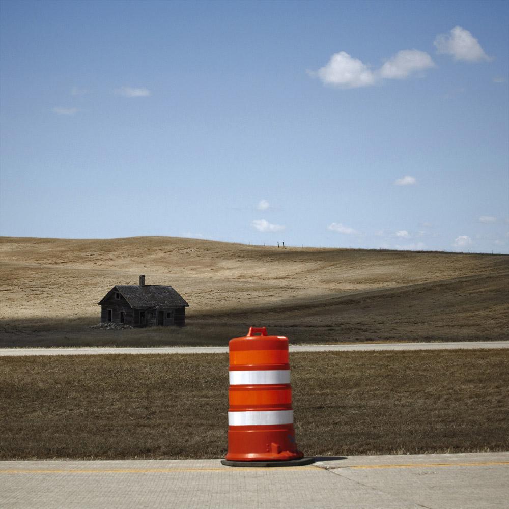 Landscape Study / Rural Plains, I-29, South Dakota, 2011