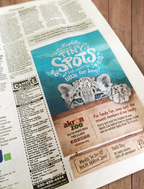 Newsprint Ad