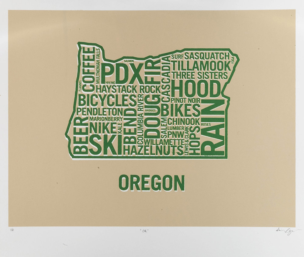 Oregon Green Dan Yaker Screen Print.jpg