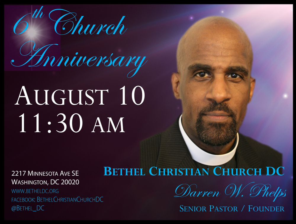 August 10, 2014 - 6th Church Anniversary