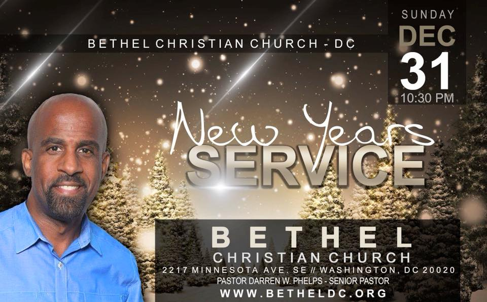 December 31, 2017 - Watch Night Service