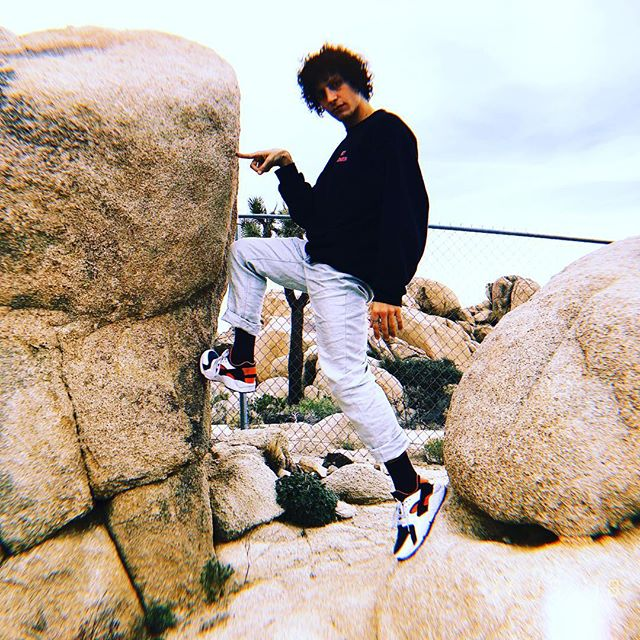 Being between a rock and a hard place isn't so bad.  Maybe one day, under the pressure,  after centuries, we can become brilliant gems in crystal caves and we will be immortal after all . . . . . . . . #joshuatree #yuccavalley #crystalhealing #pressure #immortal