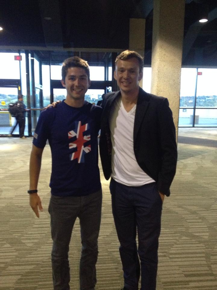Simon Whitfield the 2000 Olympic Games Gold Medalist in Triathlon