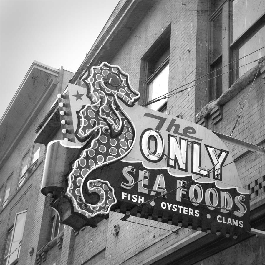 only seafoods