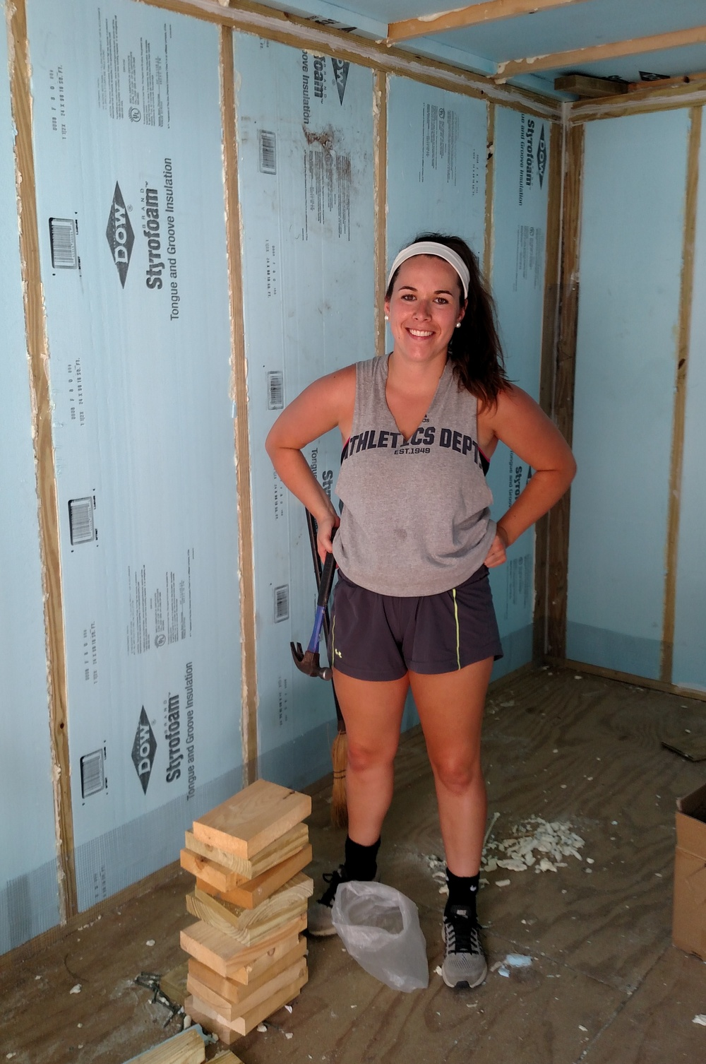 CHCV's new UVM Intern Holly St. Jean, helps with cooler building on her first day.  We look forward to having her help in all aspects of the program over the summer and maybe in to the fall.