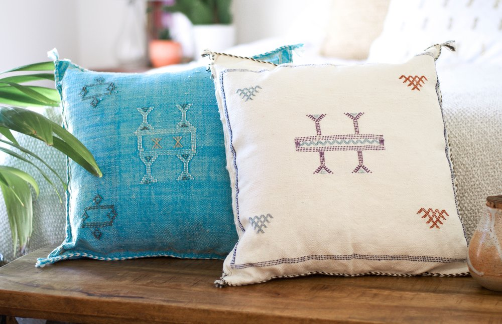 Indio White - Handmade Nomadic Decor