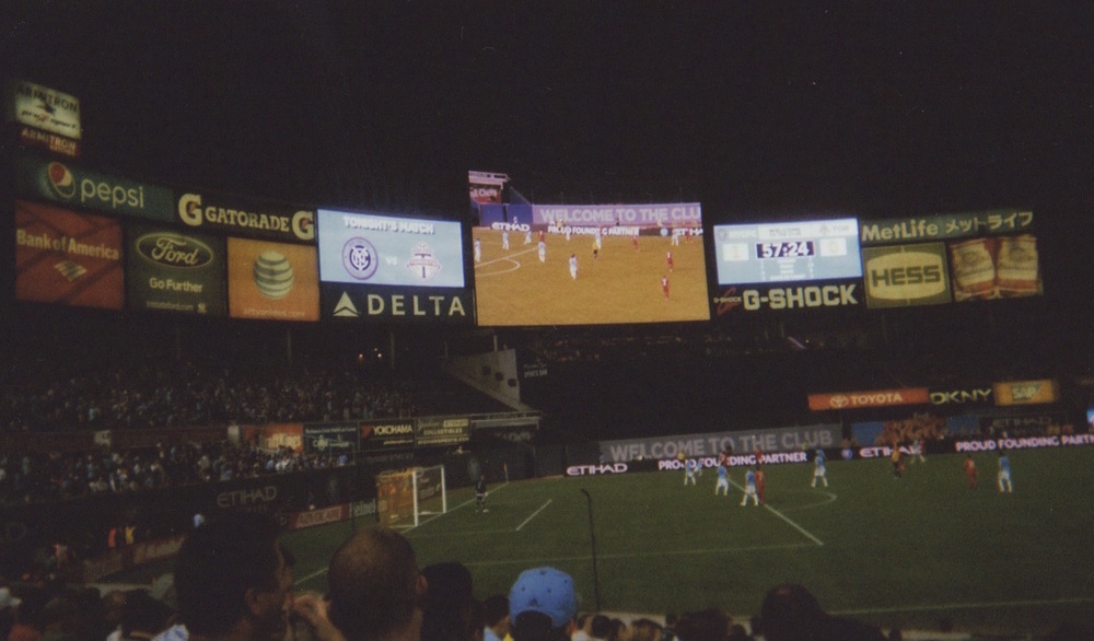 NYC FC at the Yankee Stadium
