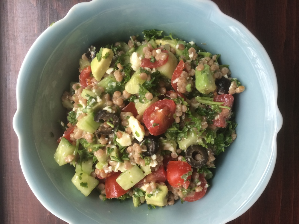 Bright and Lemony Couscous Salad
