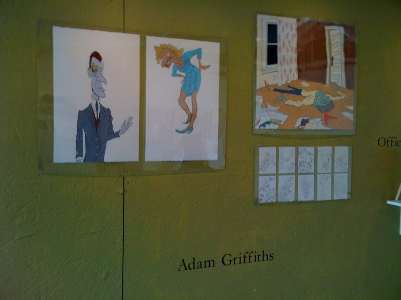 Adam Griffiths' Artomatic Wall