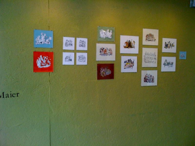 Dana Maier's Artomatic Wall