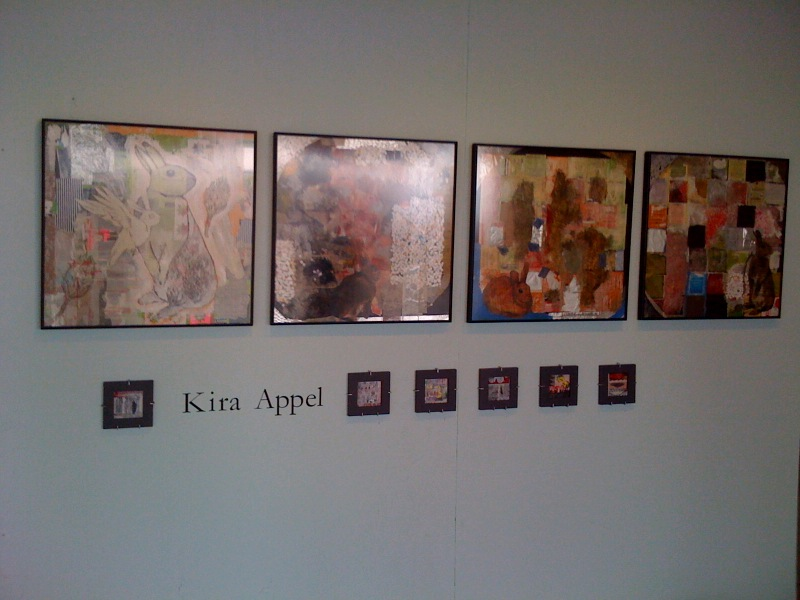 Kira Appel's Artomatic Wall