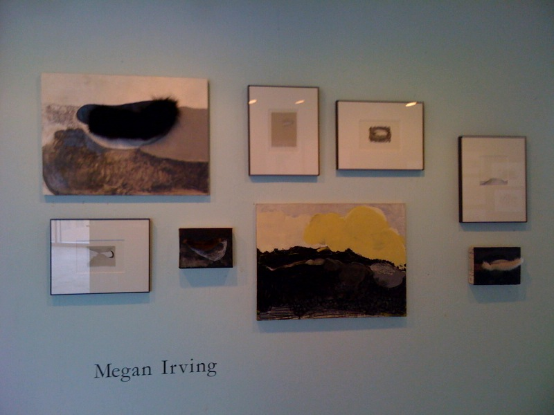 Megan Irving's Artomatic Wall