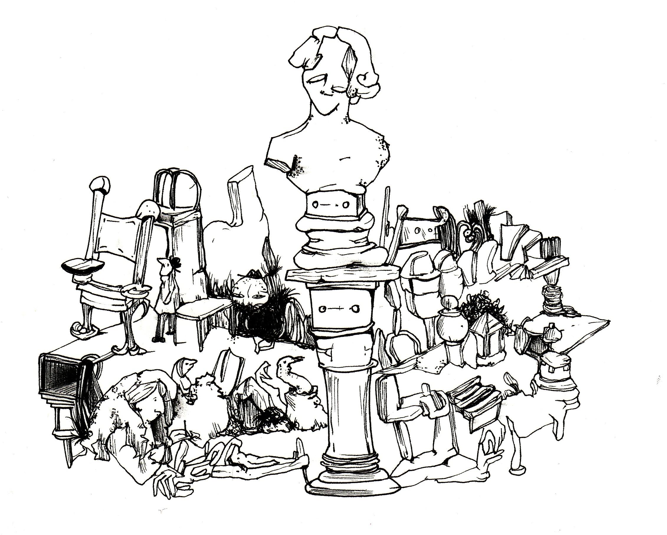 The Statue - Dana Maier