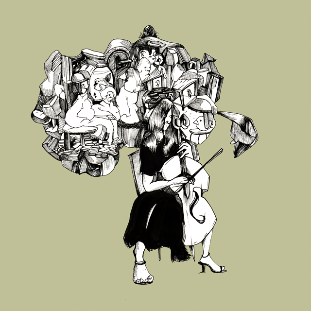 The Cello - Dana Jeri Maier