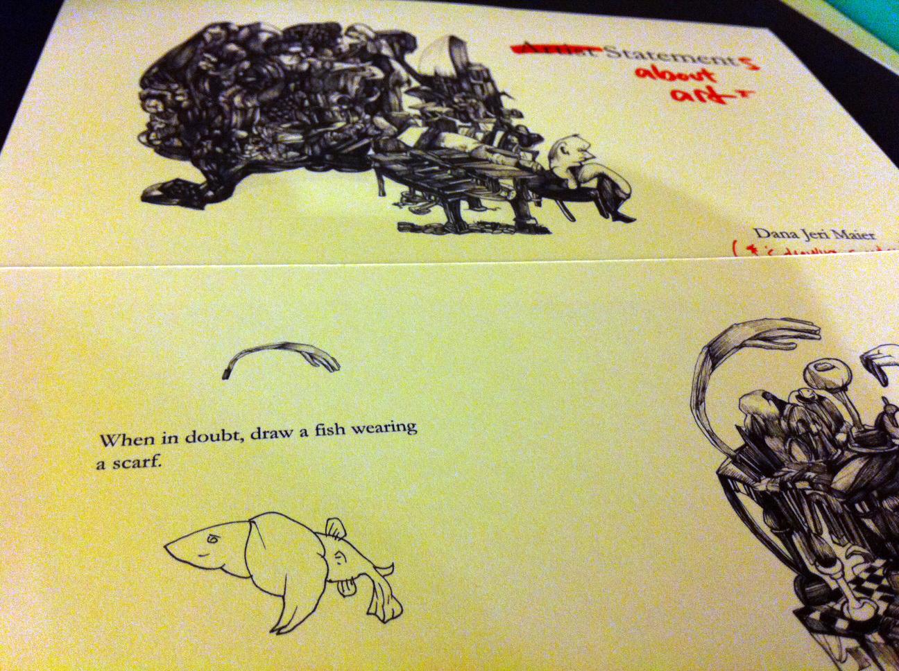 Fish Wearing Scarf - Dana Jeri Maier