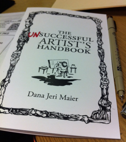 The Unsuccessful Artist's Handbook - Cover