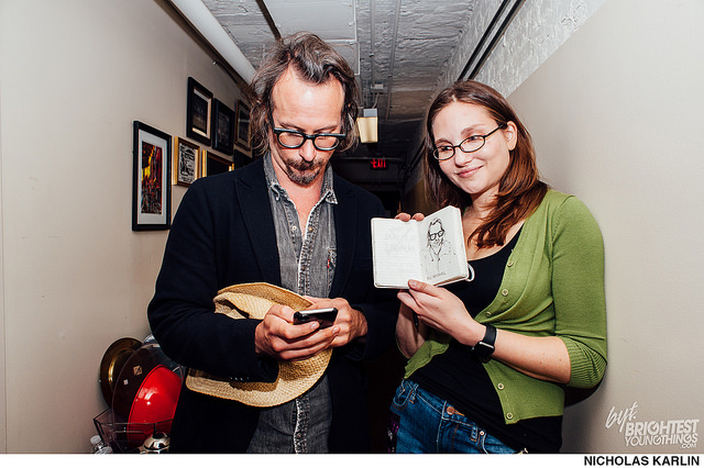 Me and Ben Kronberg, while social media-ing.