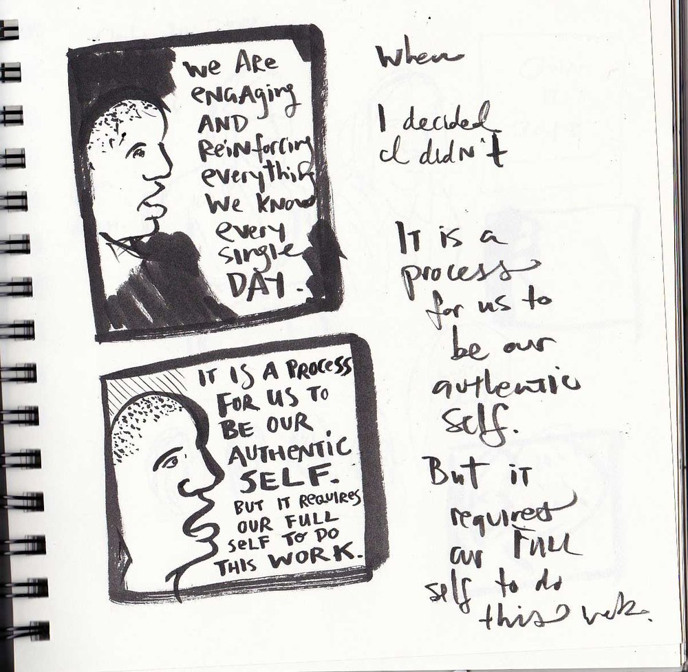 Sketches of  Symone Sanders .