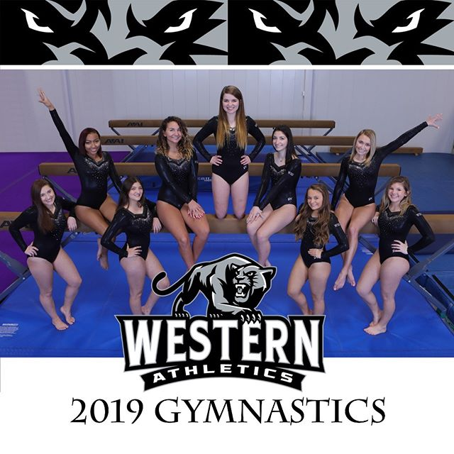 Say hello to the Western Panther gymnastics squad #westernpanthers #sportsphotography #westerngymnastics #gymnastics