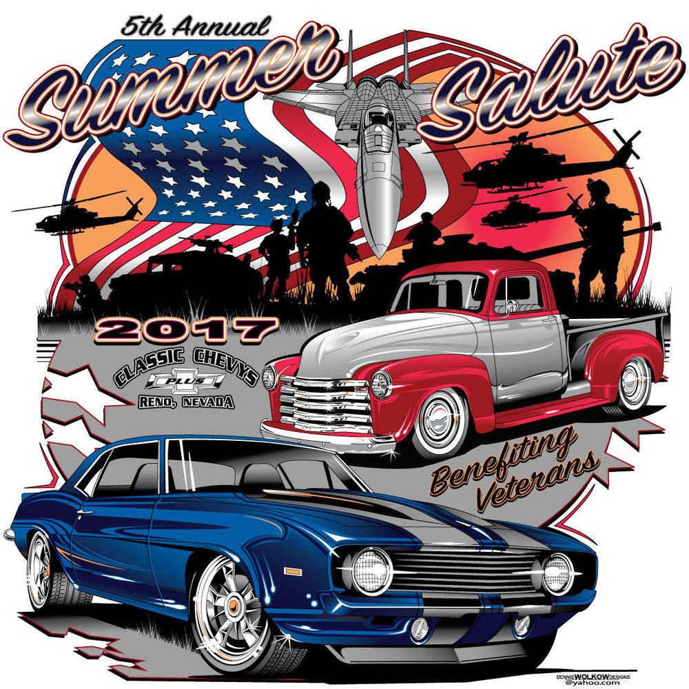 SUMMER SALUTE CAR SHOW Benefits Veterans Honor Flight Nevada - Reno car show