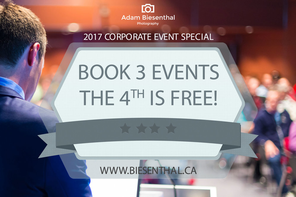 Hurry, you must pre-book your 3 events before March 31st to qualify!