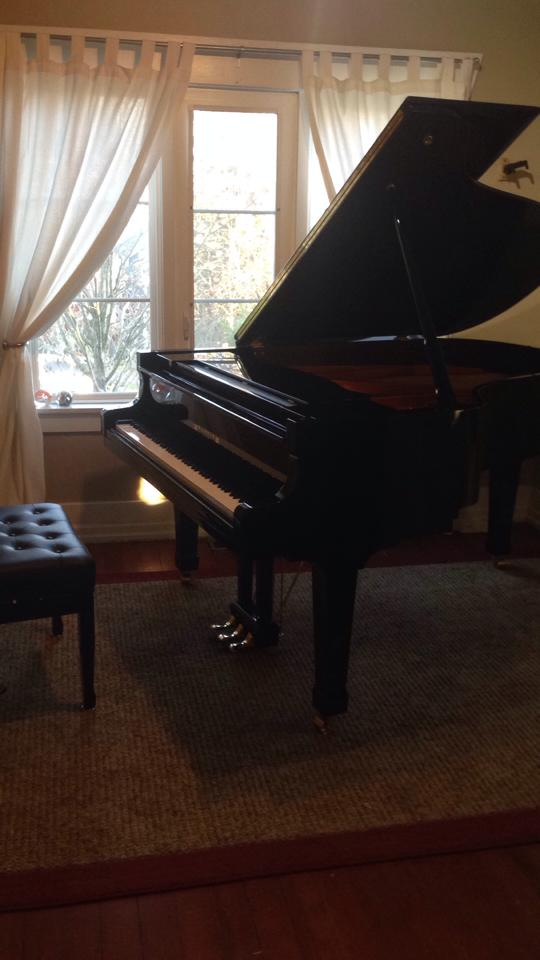 Steph's new piano
