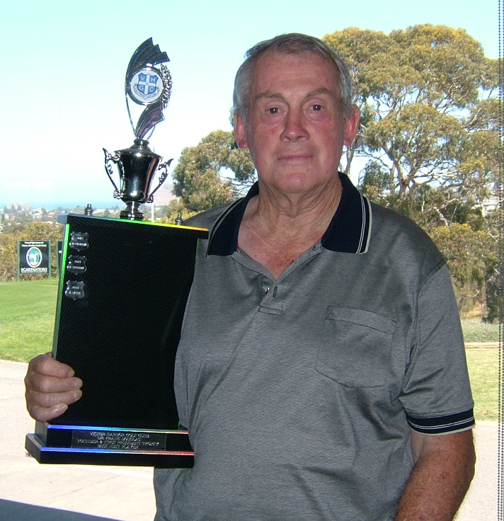 2015 Winner of the Dr Frank Douglas Trophy, Doug Bennett