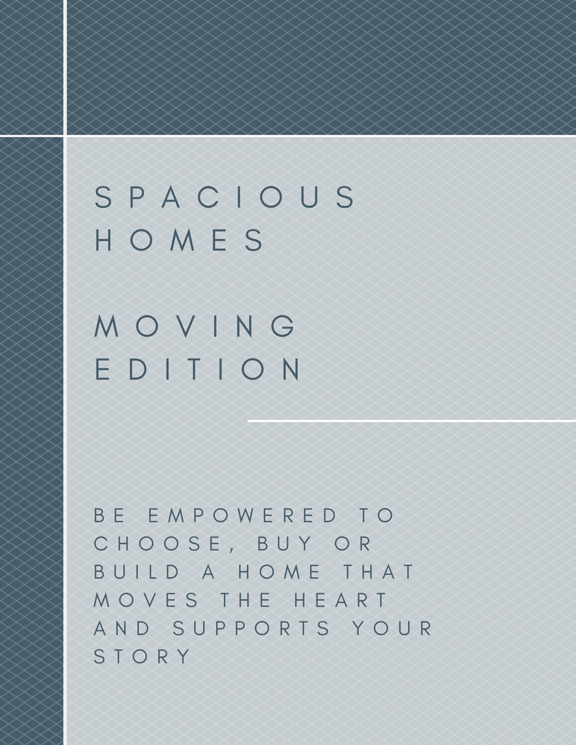 Create a spacious home when you have the chance to move