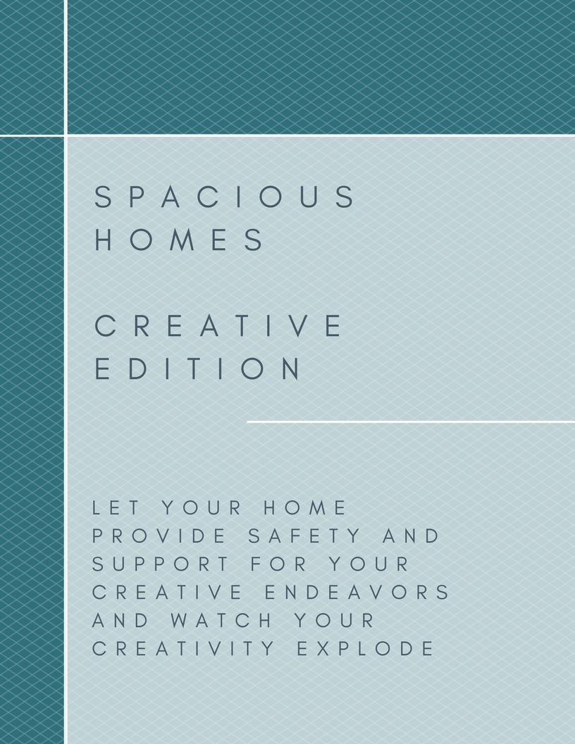 Create a spacious home where your creativity can thrive