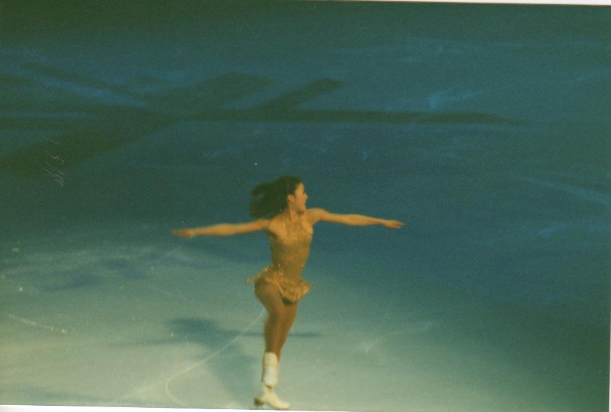 Her last Olympic skate