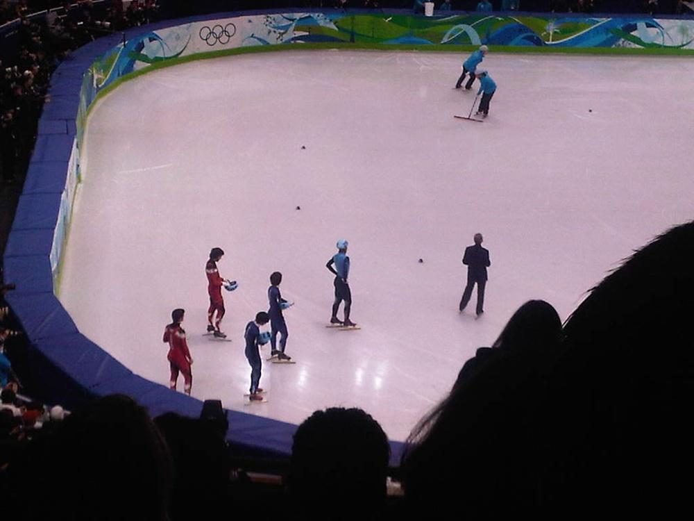Apolo's last Olympic skate