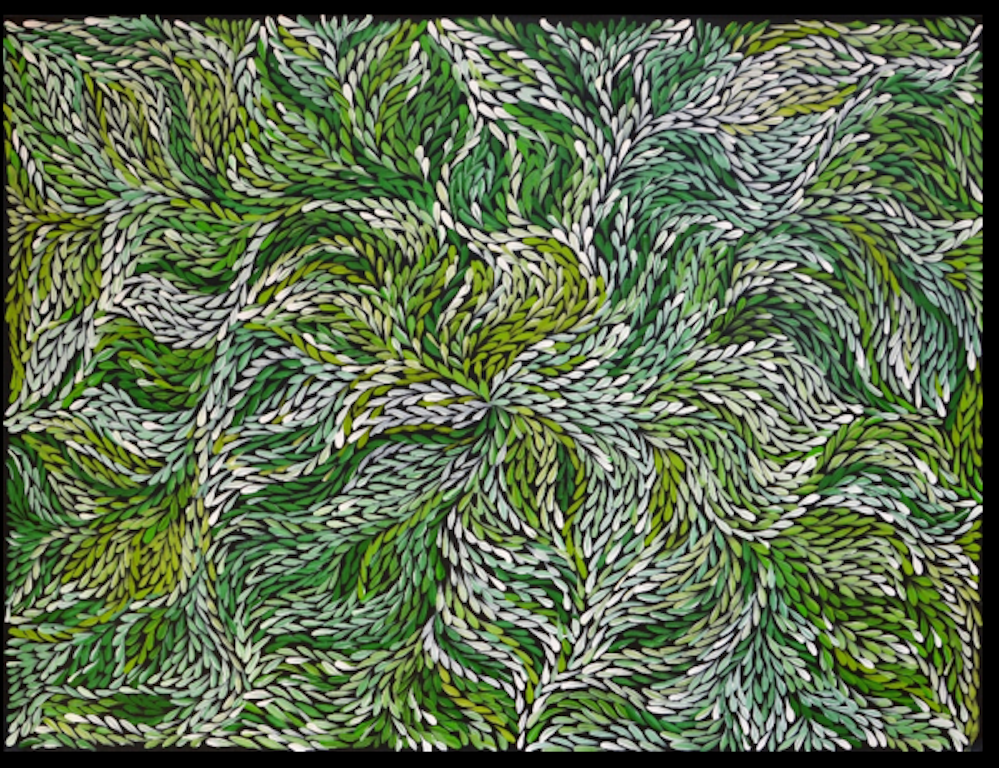 Bush Yam Leaves, Jeannie Petyarre