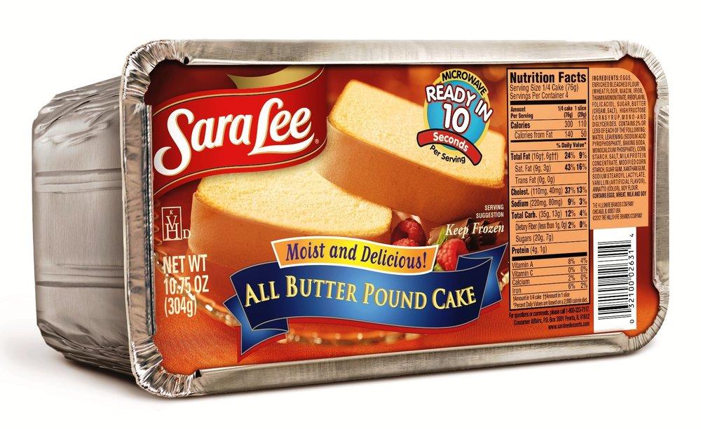 Sara Lee Butter Pound Cake