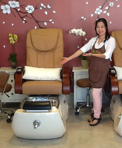 JENNY HA OF NEW IMAGE NAIL SPA