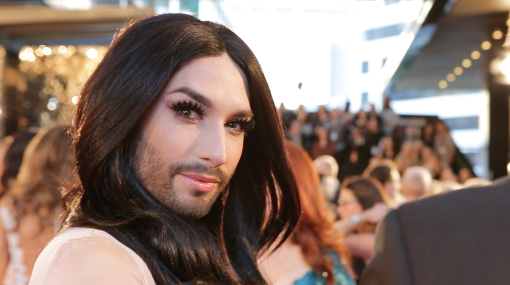 CONCHITA WURST We followed Eurovision 2014 winner Conchita Wurst during her trip to Australia in May 2015, including the TV Week Logies and a spot on Channel Ten's 'The Project'. Footage to come, in the meantime here's a photo... Filmed by: Luisa Mirabilio  |  © Sony Music 2015
