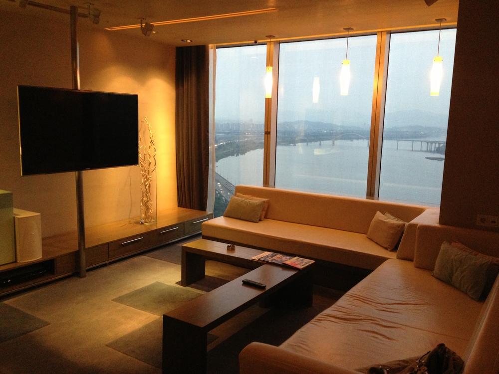 Fabulous Suite's Living Room